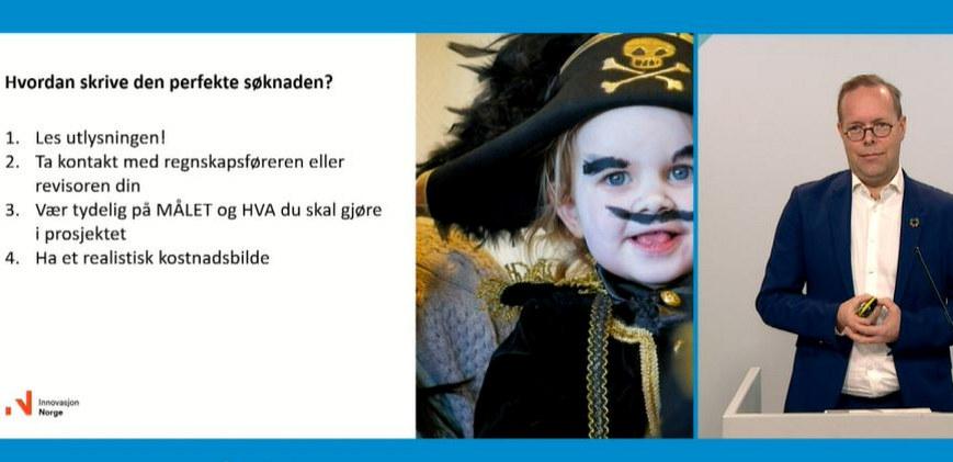 Audun Pettersen i Innovasjon Norge