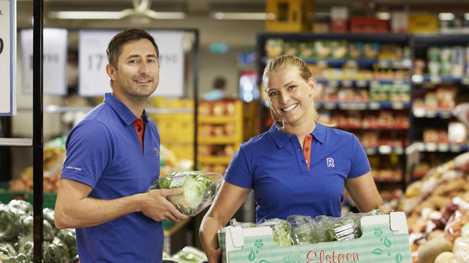 Bilde av ansatte i Rema 1000