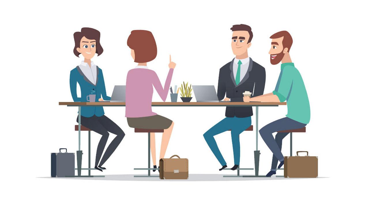Scanpix samtale kollegaer arbeidsplass