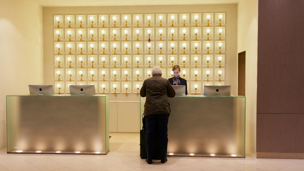 Resepsjon Grand Hotel, Oslo