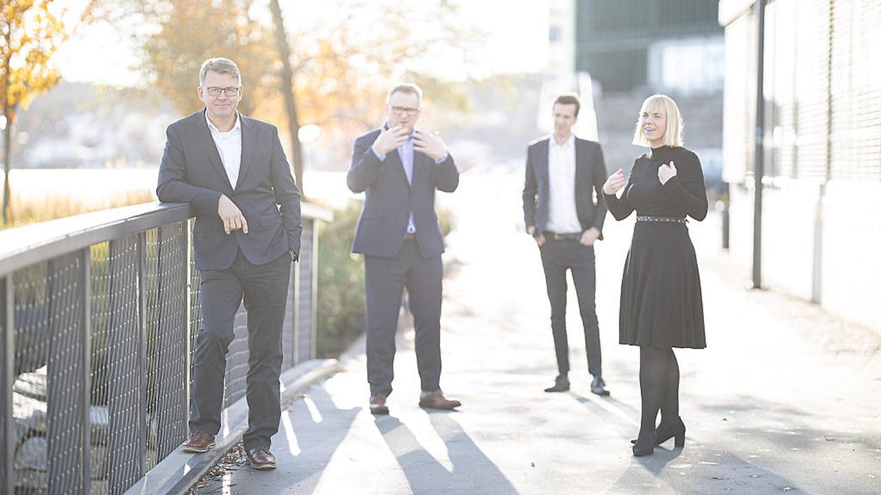 Bilde av ansatte i NHO Agder november 2020