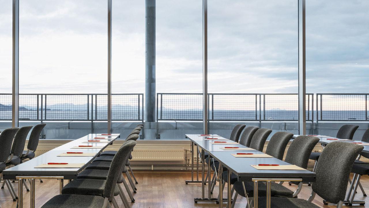 Bilde av konferansesal på Thon Hotel Lofoten