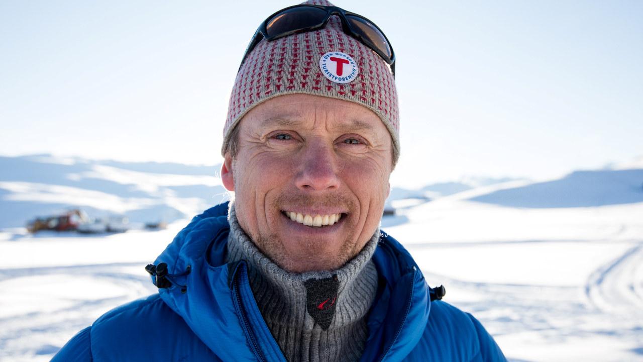 Henning Hoff Wikborg er daglig leder i DNT Oslo. Foto: Eivind Haugstad Kleiven.