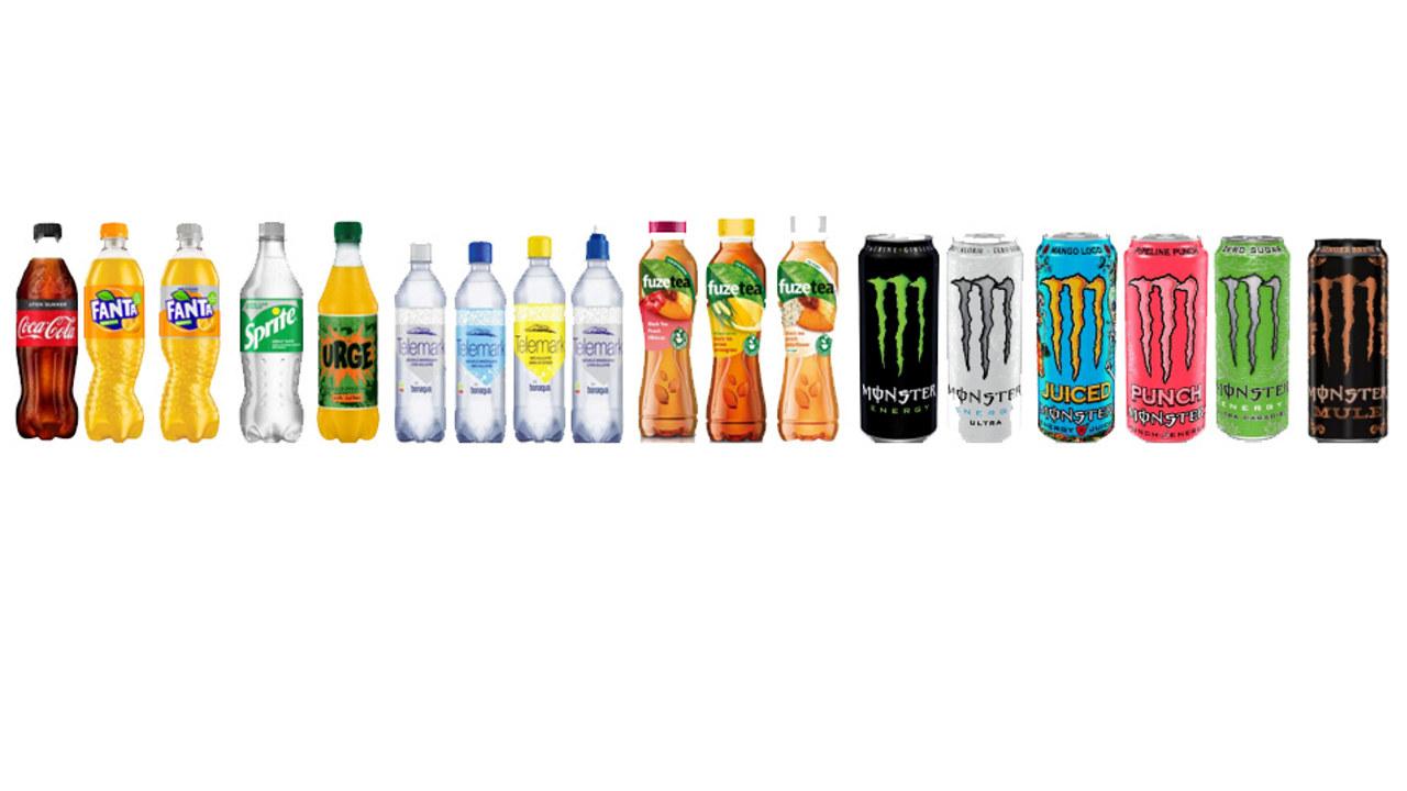 Coca-Cola miljøvennlige flasker