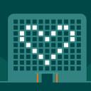 Grafikk av et hotell med hjerte i vinduene og teksten NHO Reiselivs Årskonferanse 2021: Jobbskaperne - reiselivets comeback