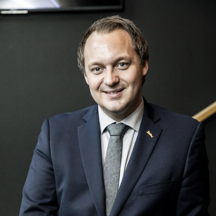 Frank Ove Wennevik, direktør Hotel Bryggen i Bergen. Foto: Radisson/ Richard L Eriksson