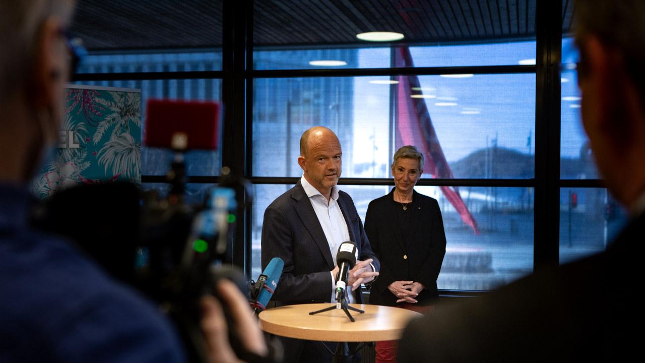 NHO-sjef Ole Erik Almlid i fbm lønnsoppgjøret 2021