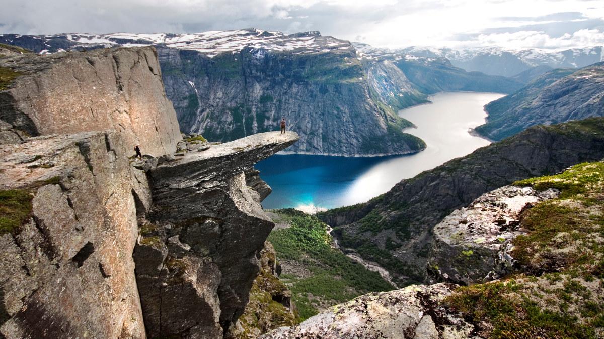 Bilde av Trolltunga i Skjeggedal.