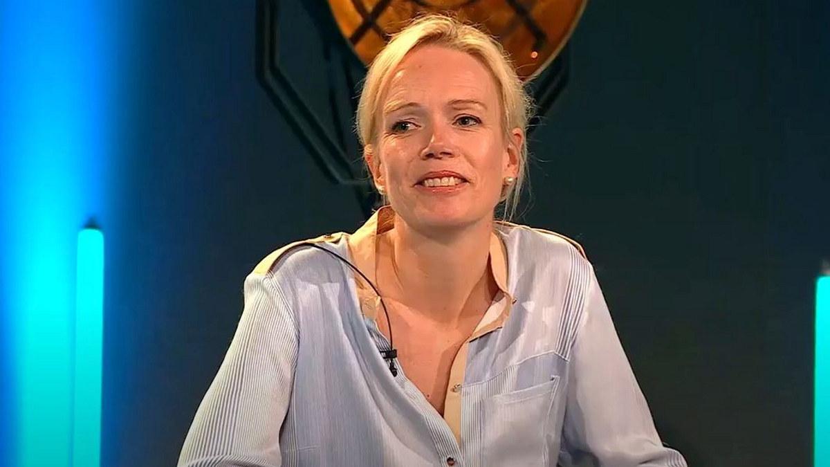 Ellen Løvold Strand, direktør Fru Haugans Hotel, på NHO Reiselivs årskonferanse i mai 2021.